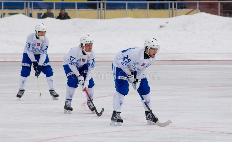 Download Dynamo Players On A Faceoff Editorial Stock Image - Image: 23895709
