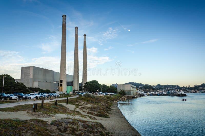 Dynegy-Kraftwerk - Morro-Bucht - Kalifornien stockfotos