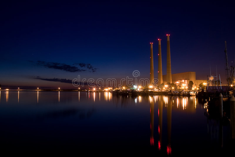 Dynergy Power Plant stock photo