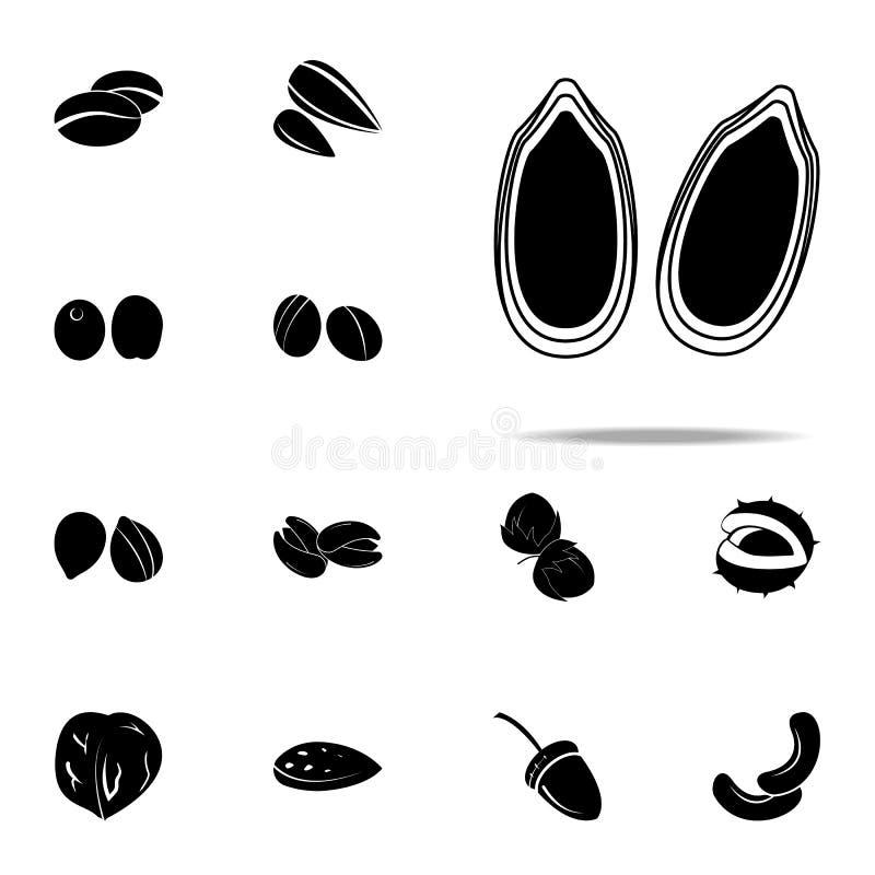 Dyniowa ikona dokrętek ikon ogólnoludzki ustawiający dla sieci i wiszącej ozdoby ilustracji
