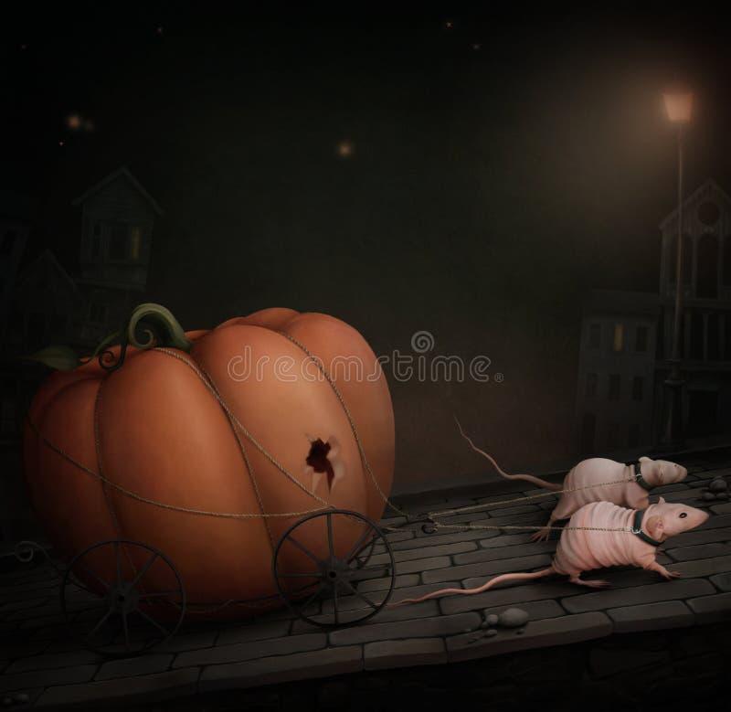 dyniowi szczury dwa ilustracji