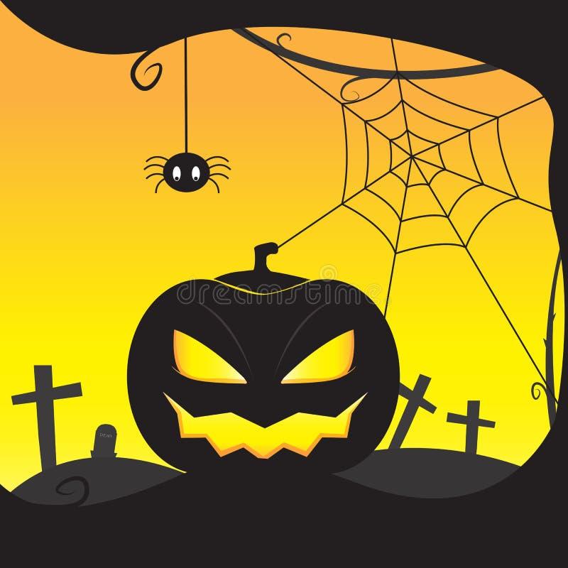 Dyniowy Halloween fotografia stock