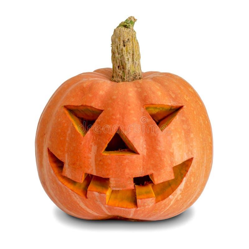 dyniowy tło biel eps8 Halloween Rzeźbiąca lampion bania dekoracja Halloween zdjęcia royalty free