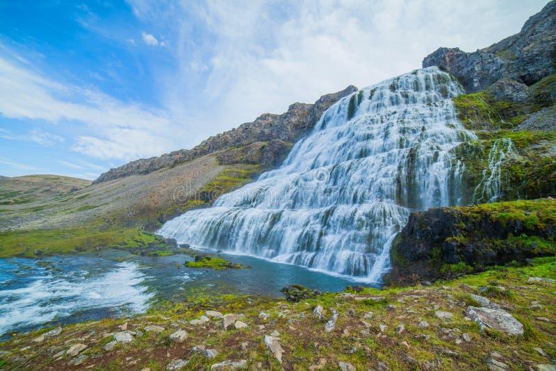 Dynjandi. Iceland zdjęcie royalty free