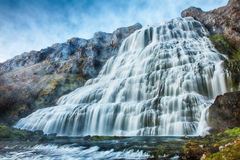 Download Dynjandi stock photo. Image of flowing, cascade, falling - 31845998