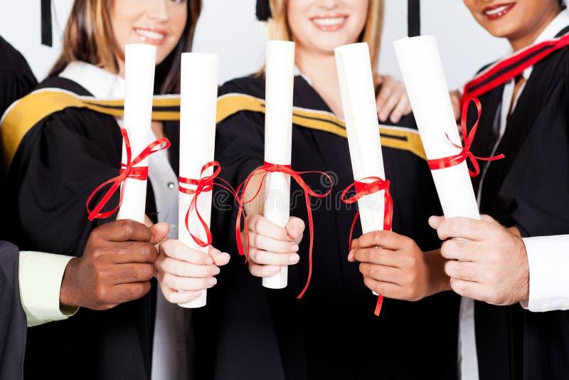 Dyplom obrazy stock