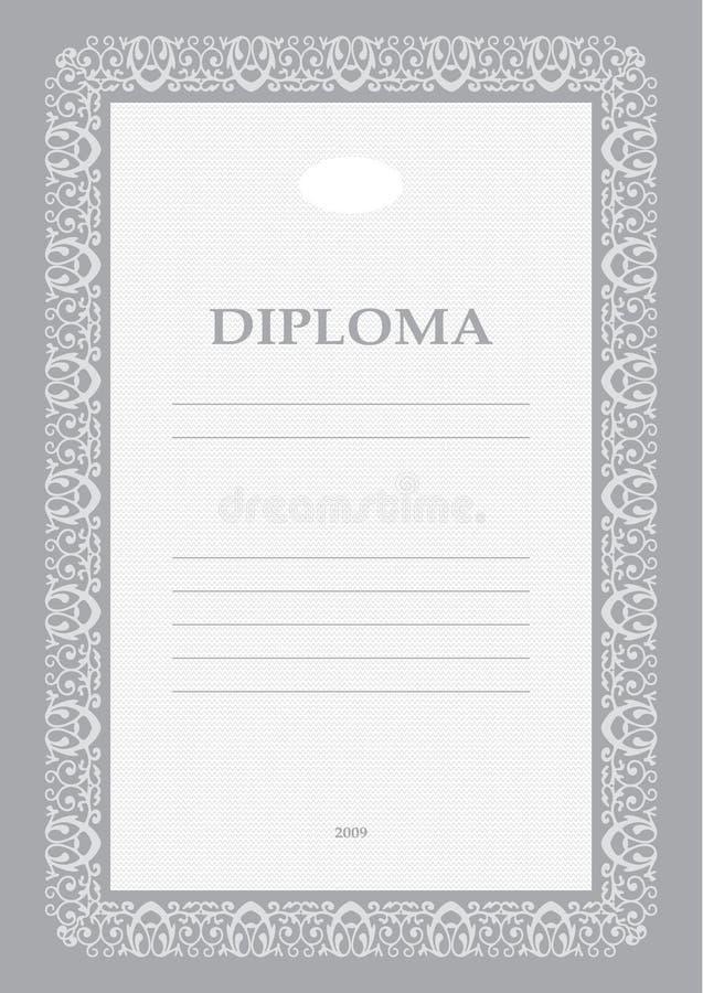 dyplom royalty ilustracja