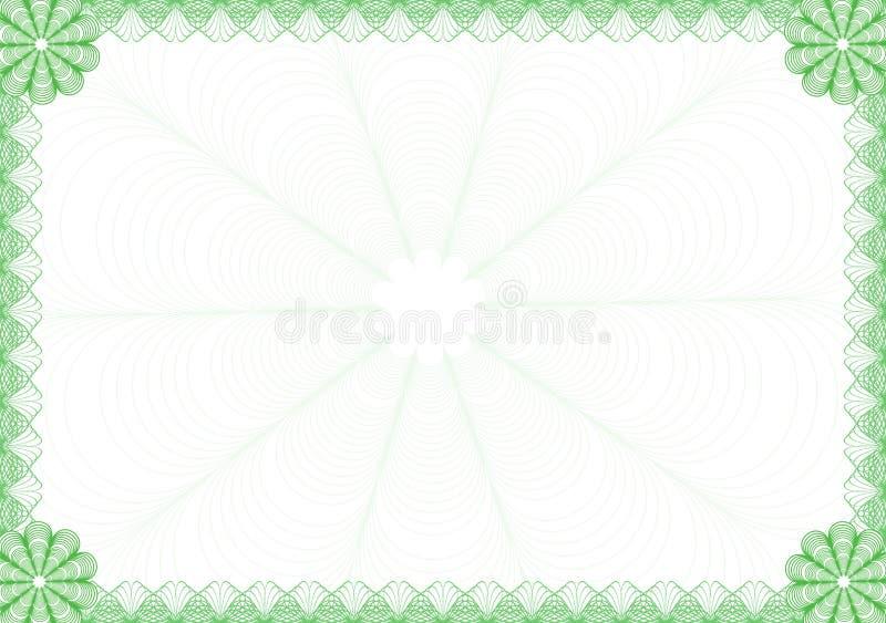dyplom rama royalty ilustracja