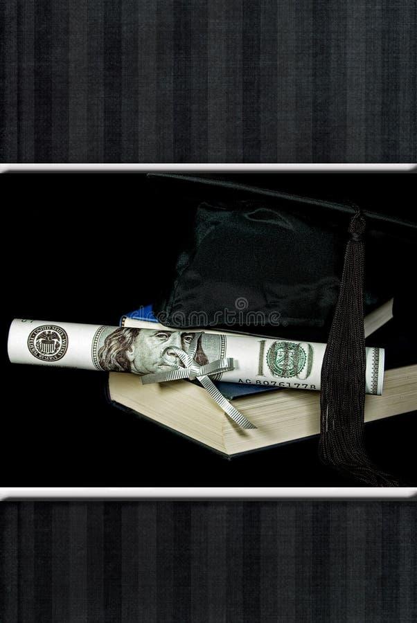 dyplomu pieniądze ilustracji