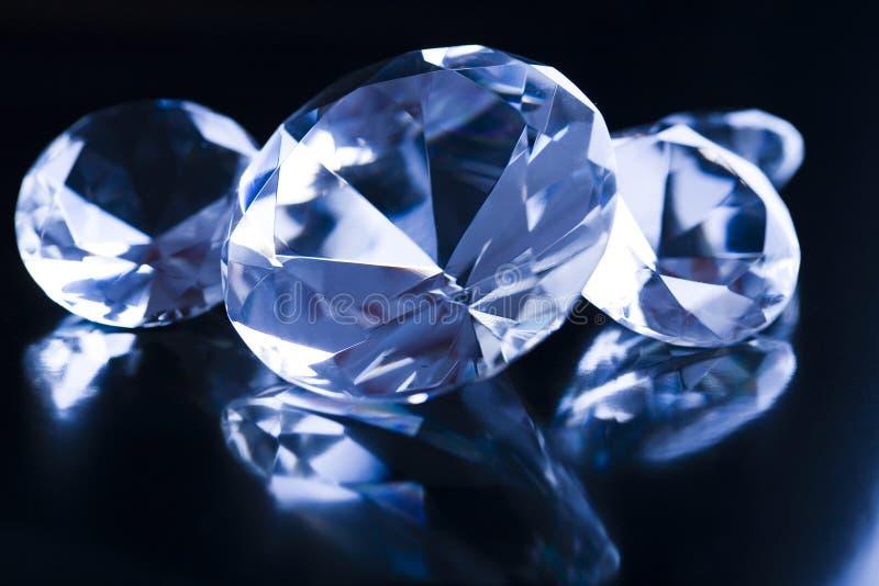 dyr sten för diamant fotografering för bildbyråer