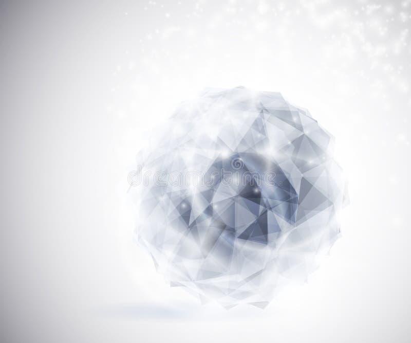 dyrbar kristall vektor illustrationer