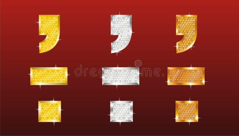dyrbara decimaler stock illustrationer