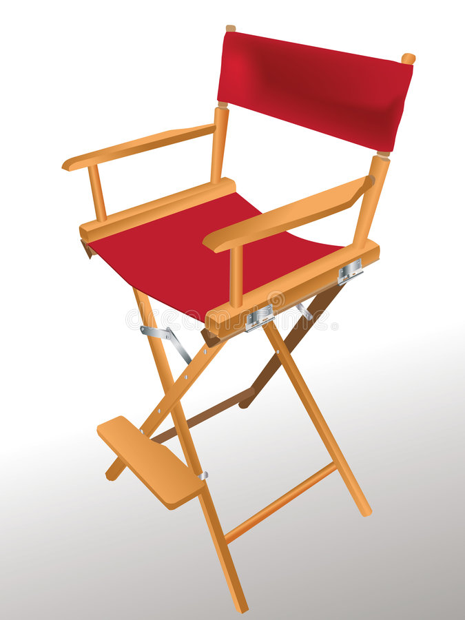 dyrektor jest krzesło royalty ilustracja