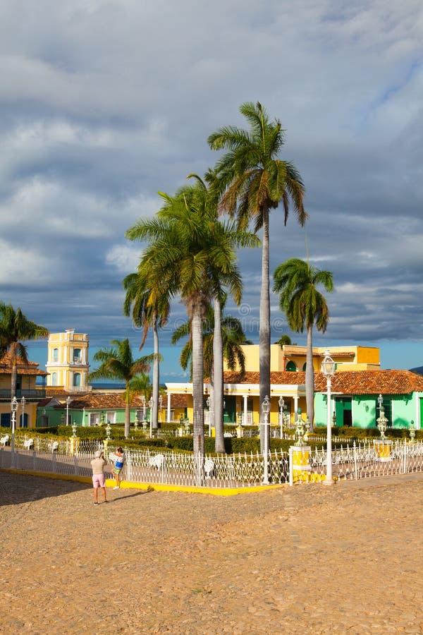 Dyrektora kwadrat Trinidad zdjęcie stock