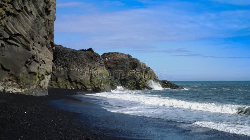 Dyrholaey cape South Iceland royalty free stock photo