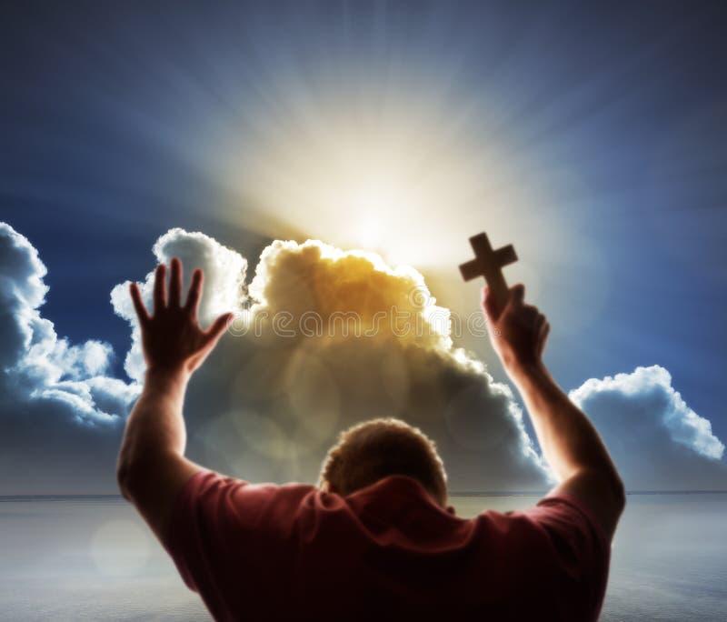 Dyrkan, förälskelse och andlighet royaltyfri foto