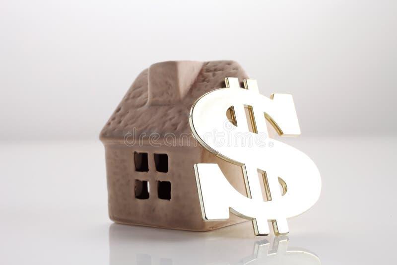 dyrt hus royaltyfri fotografi