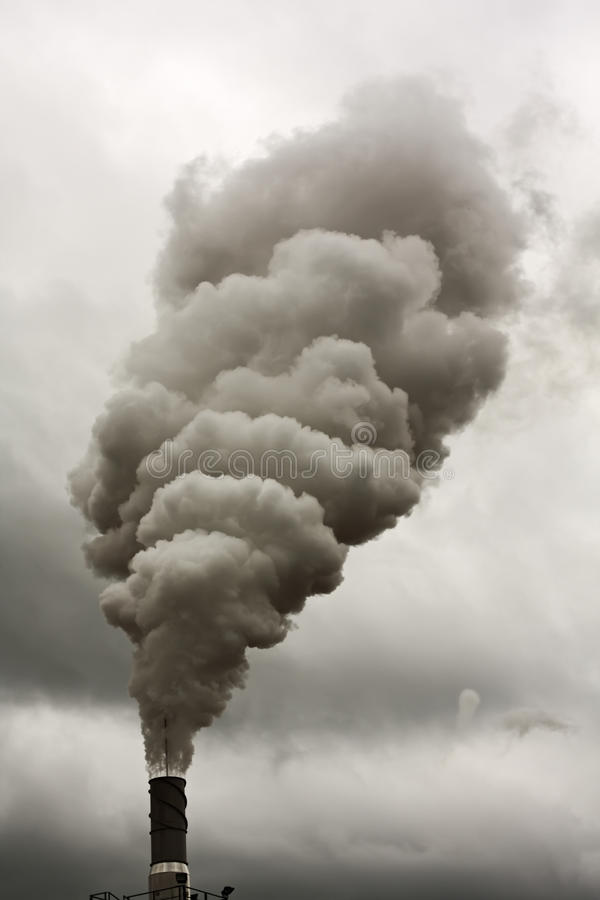 Dyrty Rauch stockfoto