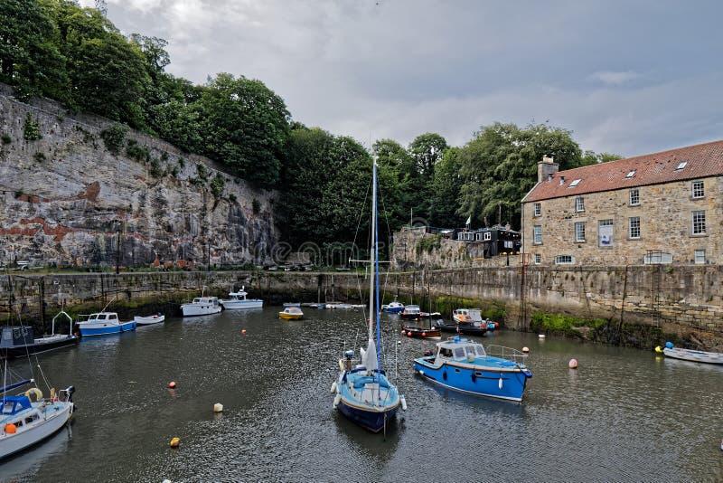 Dysarthaven, Schotland stock foto