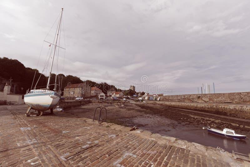 Dysarthaven, Schotland royalty-vrije stock afbeeldingen