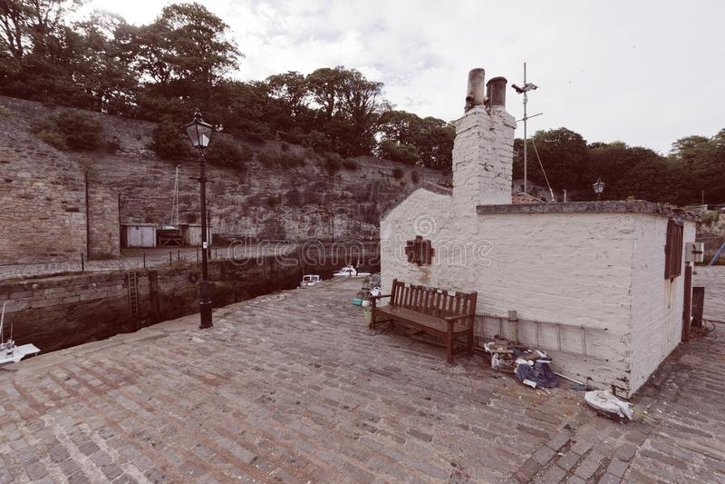Dysarthaven, Schotland royalty-vrije stock fotografie