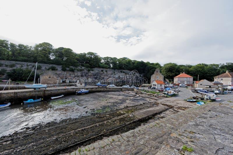 Dysarthaven, Schotland stock afbeelding