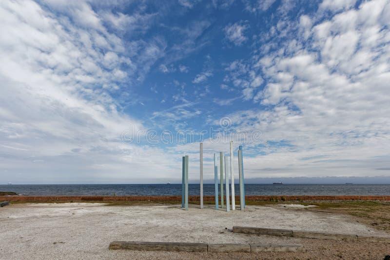 Dysarthaven, Schotland royalty-vrije stock foto