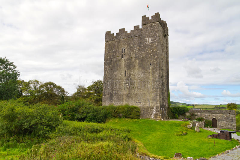 Download Dysert O'Dea Castle stock photo. Image of horizontal - 20942094