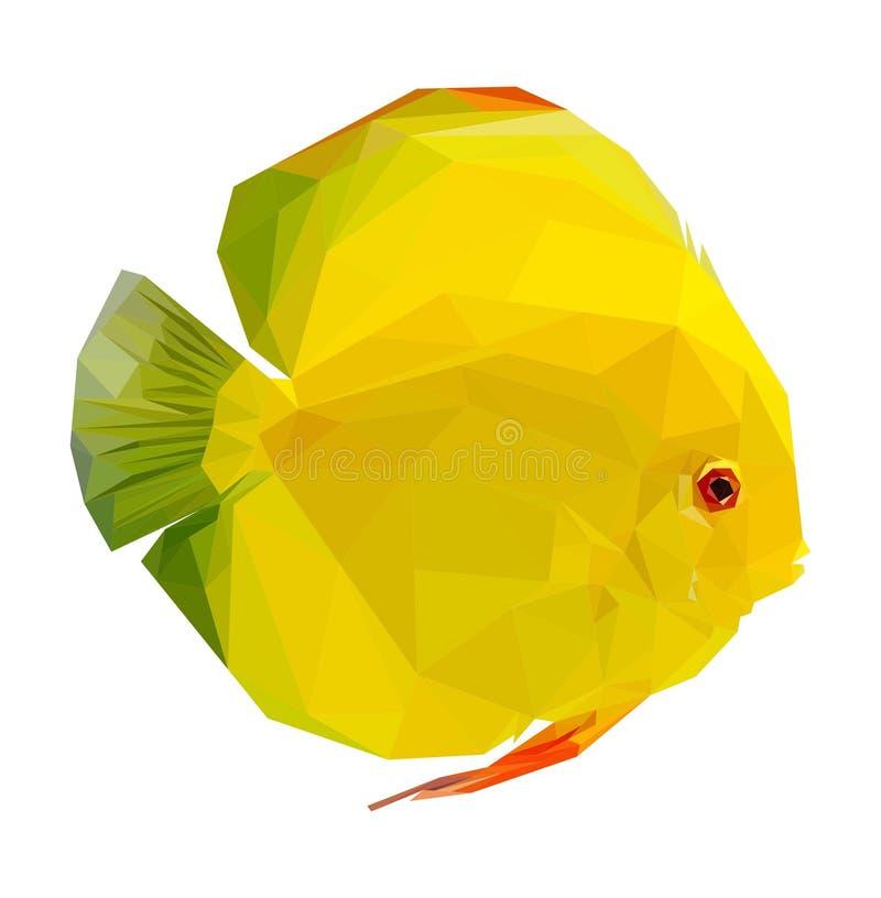 Dysk ryba royalty ilustracja