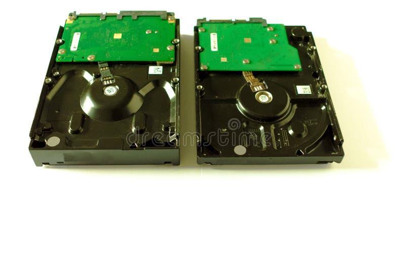 Dysk twardy dla wewnętrznych komputerów 3 Wektorowa ilustracja fotografia royalty free