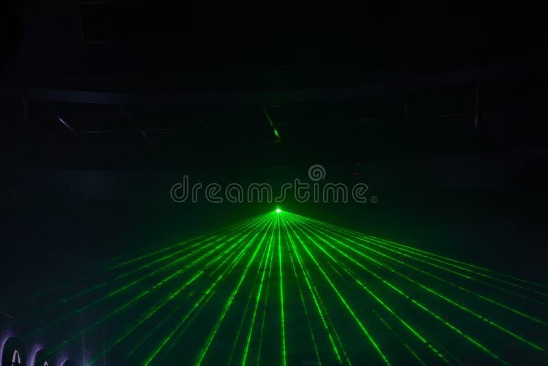 Dyskoteki światła przedstawienie, scen światła zdjęcie royalty free