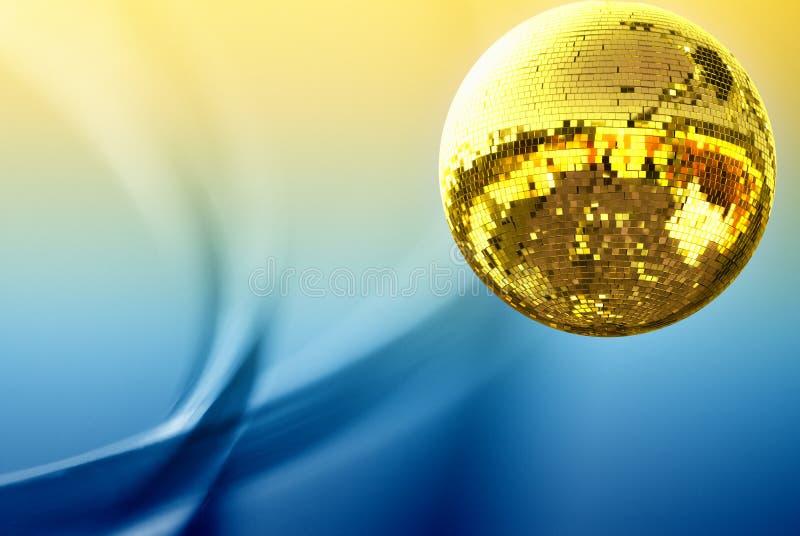 dyskoteki balowy złoto obrazy stock