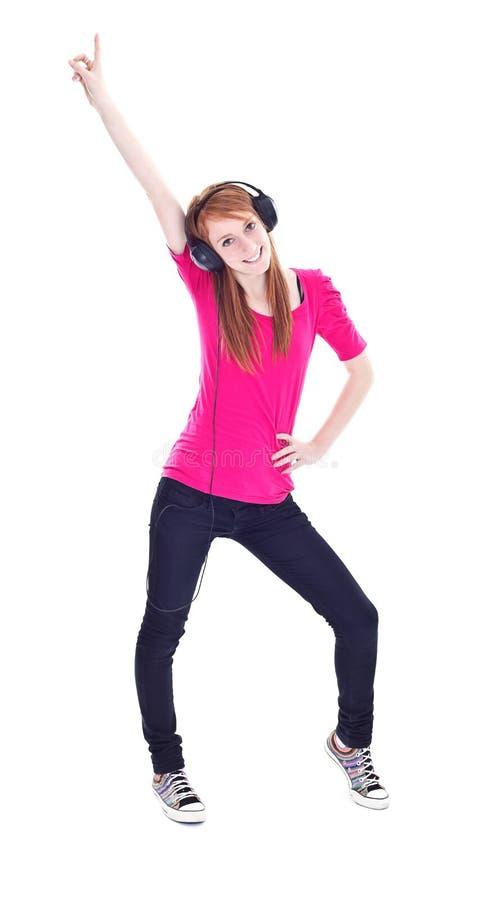 dyskoteki dziewczyna zdjęcie stock