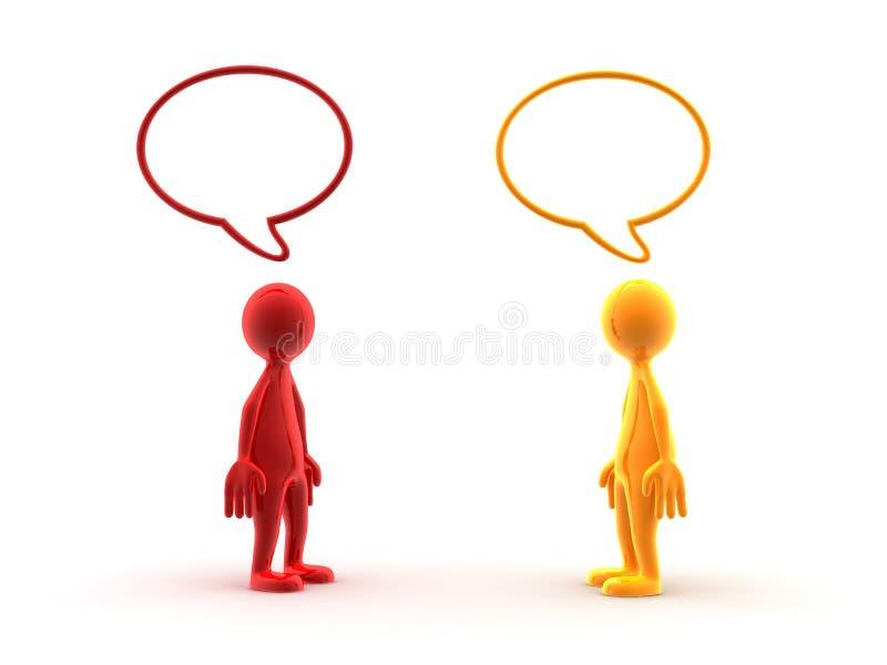 dyskusja ilustracja wektor