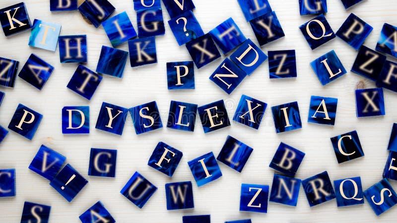 dyslexie image libre de droits