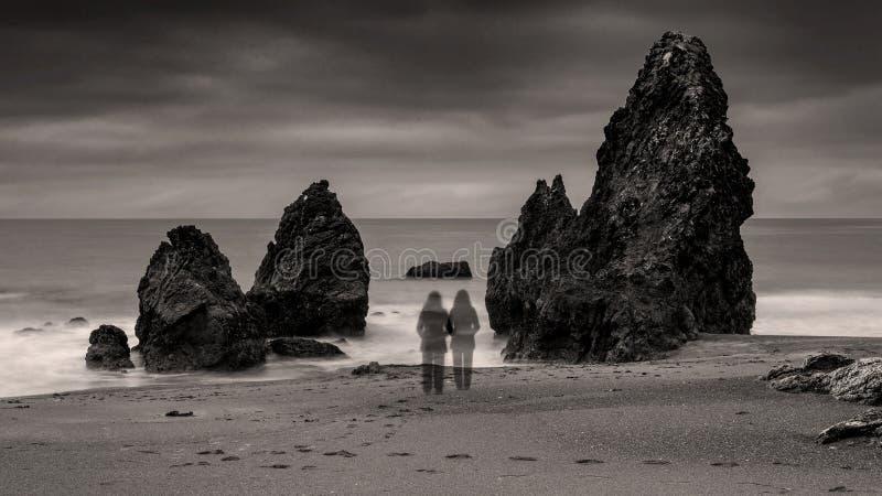 Dysocjacja - zaburzenia długiego narażenia fotografia stock