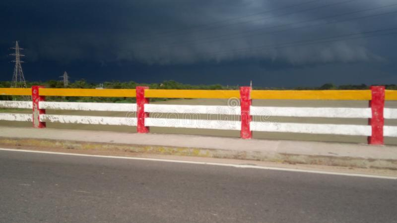 dystert väder arkivbild