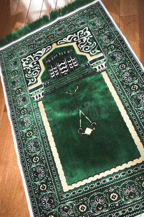 dywanik modlitewny obrazy royalty free
