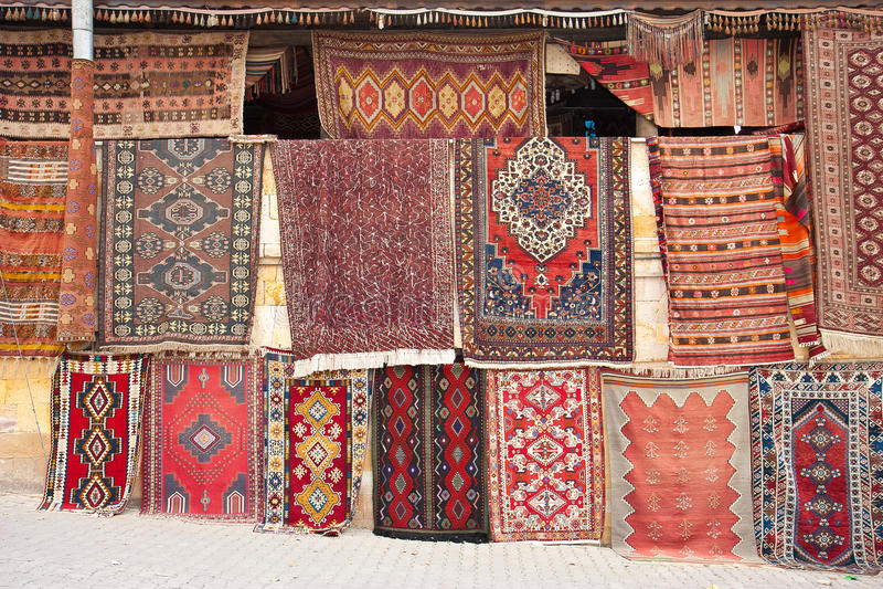 dywaniki tureccy zdjęcia royalty free
