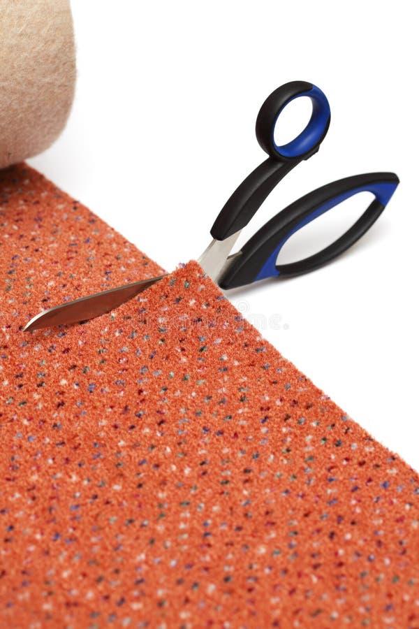 dywanowy rozcięcie zdjęcie stock