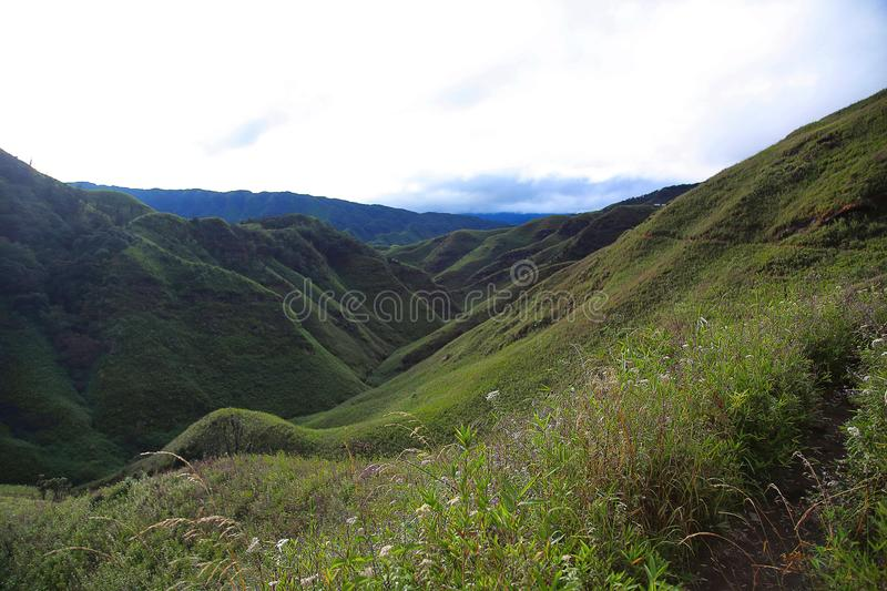 Dz�kou Valley. Border of the states of Nagaland and Manipur, India. Dzukou Valley. Border of the states of Nagaland and Manipur, India. Well known for its royalty free stock image
