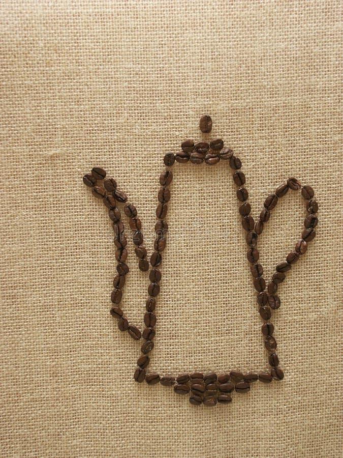 dzbanek kawy ilustracja wektor