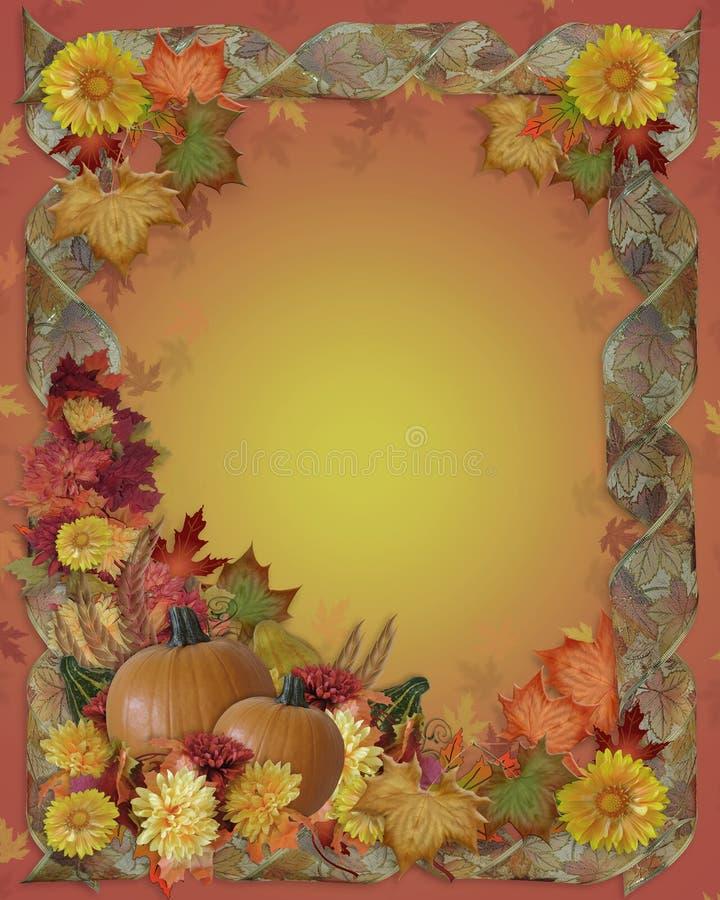 Dziękczynienia Jesień Spadek Tło ilustracji