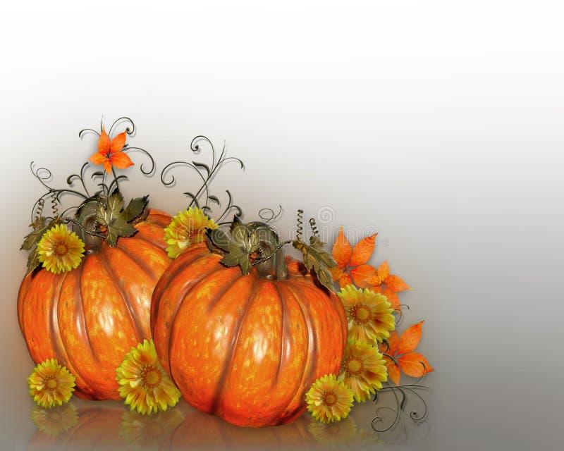 Dziękczynienie jesieni spadku tło ilustracja wektor