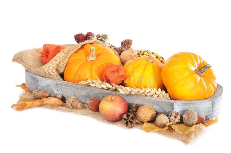 Download Dziękczynienie Z Jutową Torbą Obraz Stock - Obraz złożonej z kosz, halloweens: 53780613