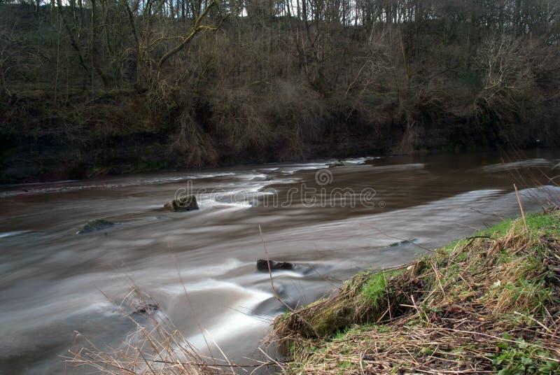 Działająca rzeka Burrs okręgu administracyjnego parka zdjęcie stock