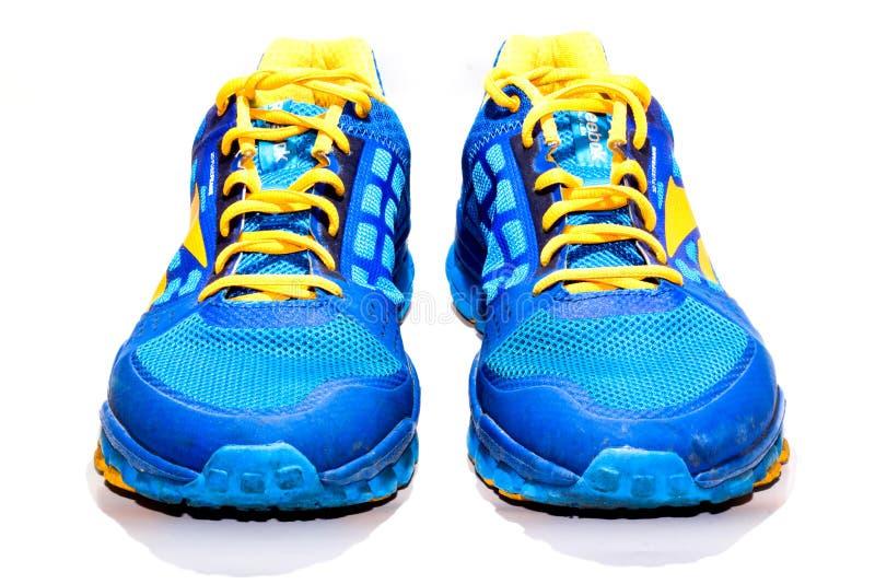 Działający buty obraz royalty free