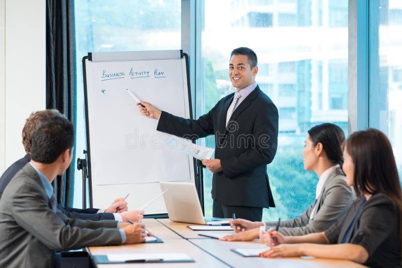 Działalność biznesowa plan fotografia stock