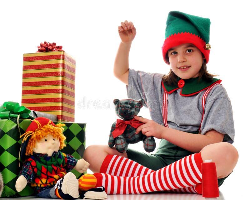 działanie elf zdjęcie stock