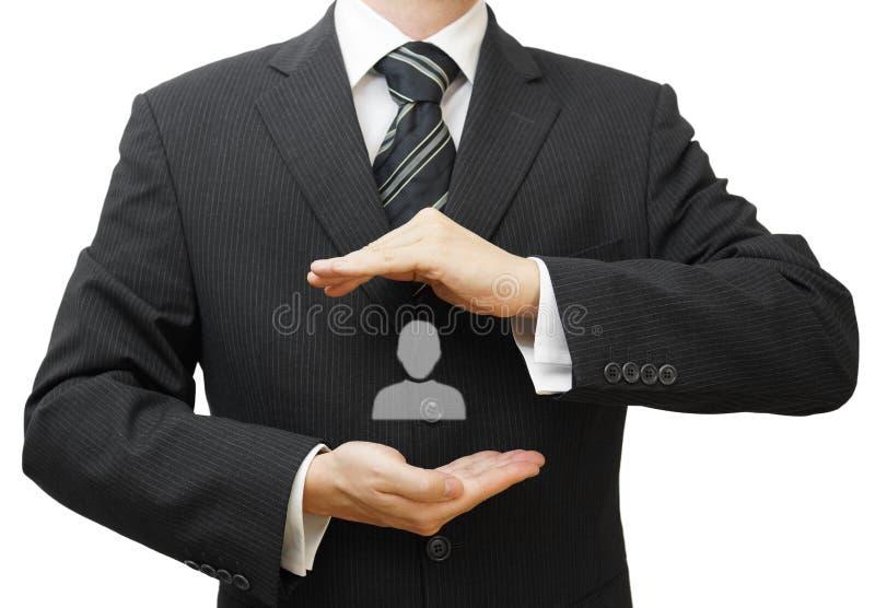 Działu zasobów ludzkich zarządzania pojęcie zdjęcie stock